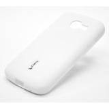Силиконовый чехол Cherry для Samsung Galaxy Star Plus GT-S7260 GT-S 7262 белый