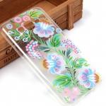 Силиконовый чехол для Samsung Galaxy J2 Prime, арт. 009530 цветы со стразами