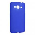 Чехол силиконов.матовый для Samsung Galaxy J3 (2016)(cиний)SM-J320техпак