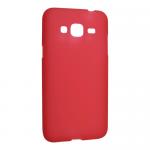 Чехол силиконов.матовый для Samsung Galaxy J3 (2016)(красный)SM-J320техпак