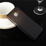Силиконовый чехол для Samsung Galaxy A5 (2016) TPU (прозрачный серый)