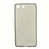 Чехол силикон. KissWill для SONY Xperia M5/M5 Dual тонкий,непрозрачный,матовый,черный