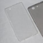 Силиконовый чехол для Sony Xperia Z/L36h, 1 мм, арт.008291-1 (Прозрачный)