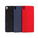 Панель матовая однотонная для Sony Xperia XA, арт. 008972 (Красный)