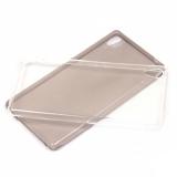 Силиконовый чехол для Sony Xperia M4 Aqua 0.3 мм, арт.008291 (Прозрачный)