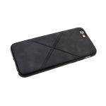 Силиконовый чехол Xiaomi Redmi 5a линии крестом, черный