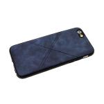 Силиконовый чехол Xiaomi Redmi 5A линии крестом, темно-синий
