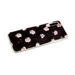 Силиконовый чехол Huawei Honor 8S Vinil, розовые розочки