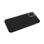 Силиконовый чехол Xiaomi Mi A3 Baseus, комбинированная кожа, черный