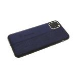Силиконовый чехол Xiaomi Mi A3 Baseus, комбинированная кожа, темно-синий
