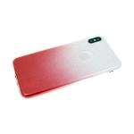 Силиконовый чехол Huawei Honor 9X блестящий с переходом, красный