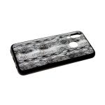 Задняя крышка Samsung Galaxy A40 пластик с рисунком, под змеиную кожу