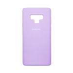 Силиконовый чехол Samsung Galaxy A20/A30 Silicone cover с логотипом, закр, сиреневый