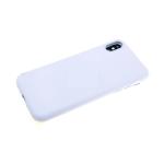 Чехол для Sony Xperia E/C1504/C1505) силикон белый матовый