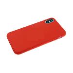 Чехол для Sony Xperia E/C1504/C1505 силикон красный матовый