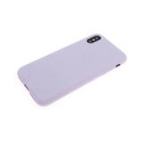 Чехол для Sony Xperia Go ST27i силикон сиреневый матовый