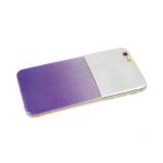 Задняя крышка Xiaomi Redmi 6 Pro/A2 Lite зеркало с блестками, фиолетовая