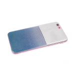 Задняя крышка Xiaomi Redmi 6 Pro/A2 Lite зеркало с блестками, голубая