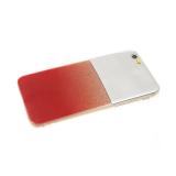Задняя крышка Xiaomi Redmi 6 Pro/A2 Lite зеркало с блестками, красная