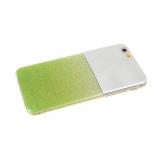 Задняя крышка Xiaomi Redmi 6 Pro/A2 Lite зеркало с блестками, салатовая