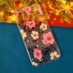 Задняя крышка Samsung Galaxy A40 c жесткой, прозрачные края,