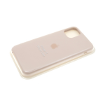 Силиконовый чехол iPhone 7 пудра