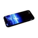 Задняя крышка Samsung Galaxy A30 рисунки на черном пластике, земля