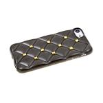 Силиконовый чехол Iphone XR 6.1 ромбы с шипами, черный