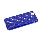 Силиконовый чехол Iphone XR 6.1 ромбы с шипами, синий