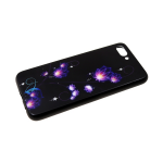 Задняя крышка Huawei Honor 8X Стеклянная с ярким рисунком, фиолетовые цветы