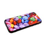 Задняя крышка Huawei Y5 2018 яркий принт, битое стекло, яркие шарики