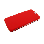 Чехол-книга Huawei Y5 2018 Soft touch c силиконовым основанием, красная