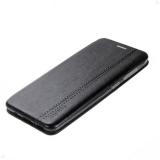 Чехол-книжка FaisON для SAMSUNG Galaxy A50/A30S/A50S, PREMIUM Line, экокожа, на магните, чёрный