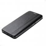 Чехол-книжка FaisON для SAMSUNG Galaxy A20/A30, PREMIUM Line, экокожа, на магните, чёрный