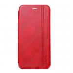 Чехол-книжка FaisON для APPLE iPhone 12/12 Pro, PREMIUM Line, CA-11, экокожа, на магните, красный
