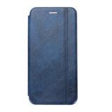 Чехол-книжка FaisON для APPLE iPhone 12/12 Pro, PREMIUM Line, CA-11, экокожа, на магните, синий