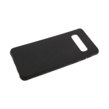Силиконовый чехол Huawei Honor 8X эко-кожа REMAX с полосками, черный
