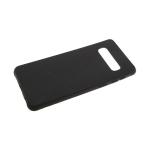 Силиконовый чехол Huawei Honor 10i эко-кожа REMAX с полосками, черный