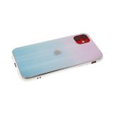 Задняя крышка Huawei Honor 8X хамелеон с перламутром, розово-бирюзовая