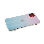 Задняя крышка Xiaomi Mi9 Lite хамелеон с перламутром, розово-бирюзовая