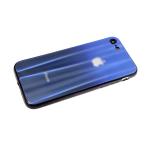 Задняя крышка Xiaomi Redmi 8a хамелеон с перламутром, сине-черная