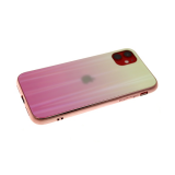 Задняя крышка Xiaomi Mi A3 хамелеон с перламутром, желто-розовая