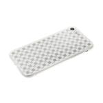 Задняя крышка Huawei Y5 2019 клетка с блестками, белая