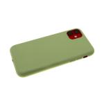 Силиконовый чехол Xiaomi Mi A3 Monarch PS-01 Premium, оливковый