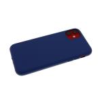 Силиконовый чехол Xiaomi Redmi Note 8 Pro Monarch PS-01 Premium, темно-синий