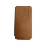 Чехол-книга Samsung Galaxy J6+ (2018) Nice Case с магнитом, коричневый