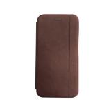 Чехол-книга Xiaomi Redmi 7 Nice Case с магнитом, темно-коричневый