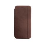 Чехол-книга Samsung Galaxy A51 Nice Case с магнитом, темно-коричневый