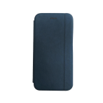Чехол-книга Xiaomi Redmi Note 8 Pro Nice Case с магнитом, темно-синий