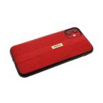 Силиконовый чехол Huawei Y5 2018 Remax, кожа с кружочками, красный